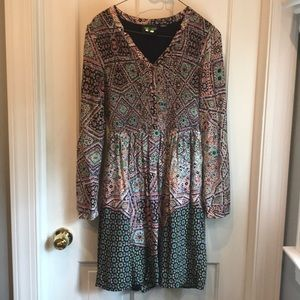 Long sleeve Anthropologie dress
